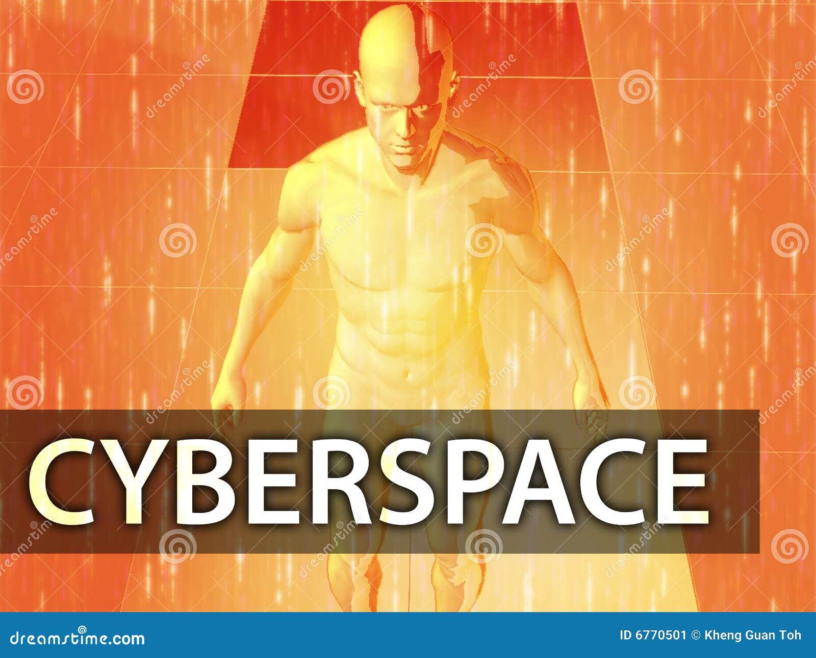 Ilustração do Cyberspace