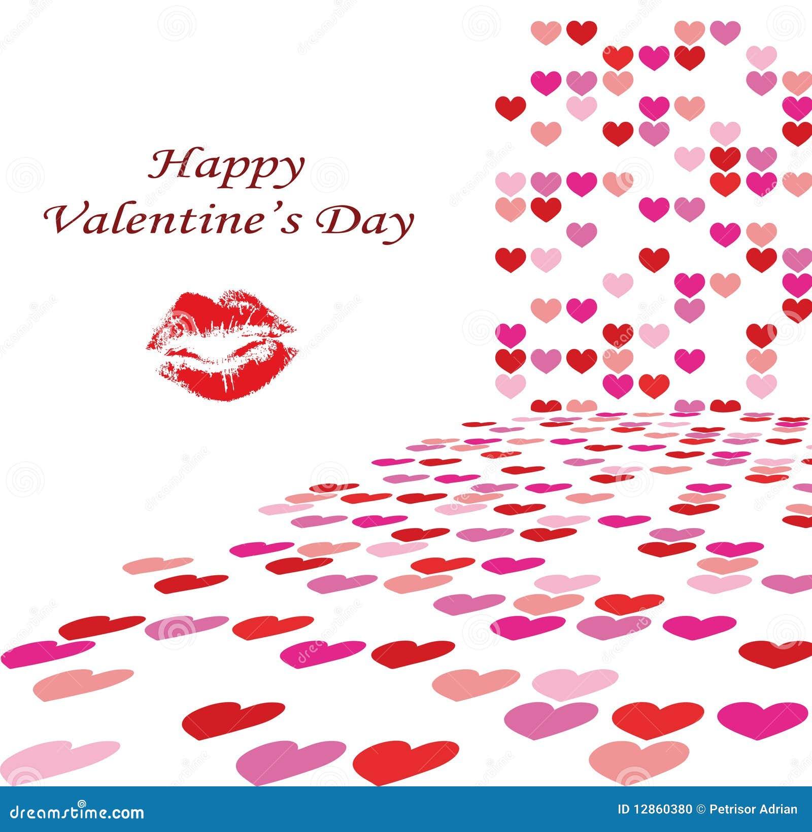 Ilustração do fundo do dia do Valentim