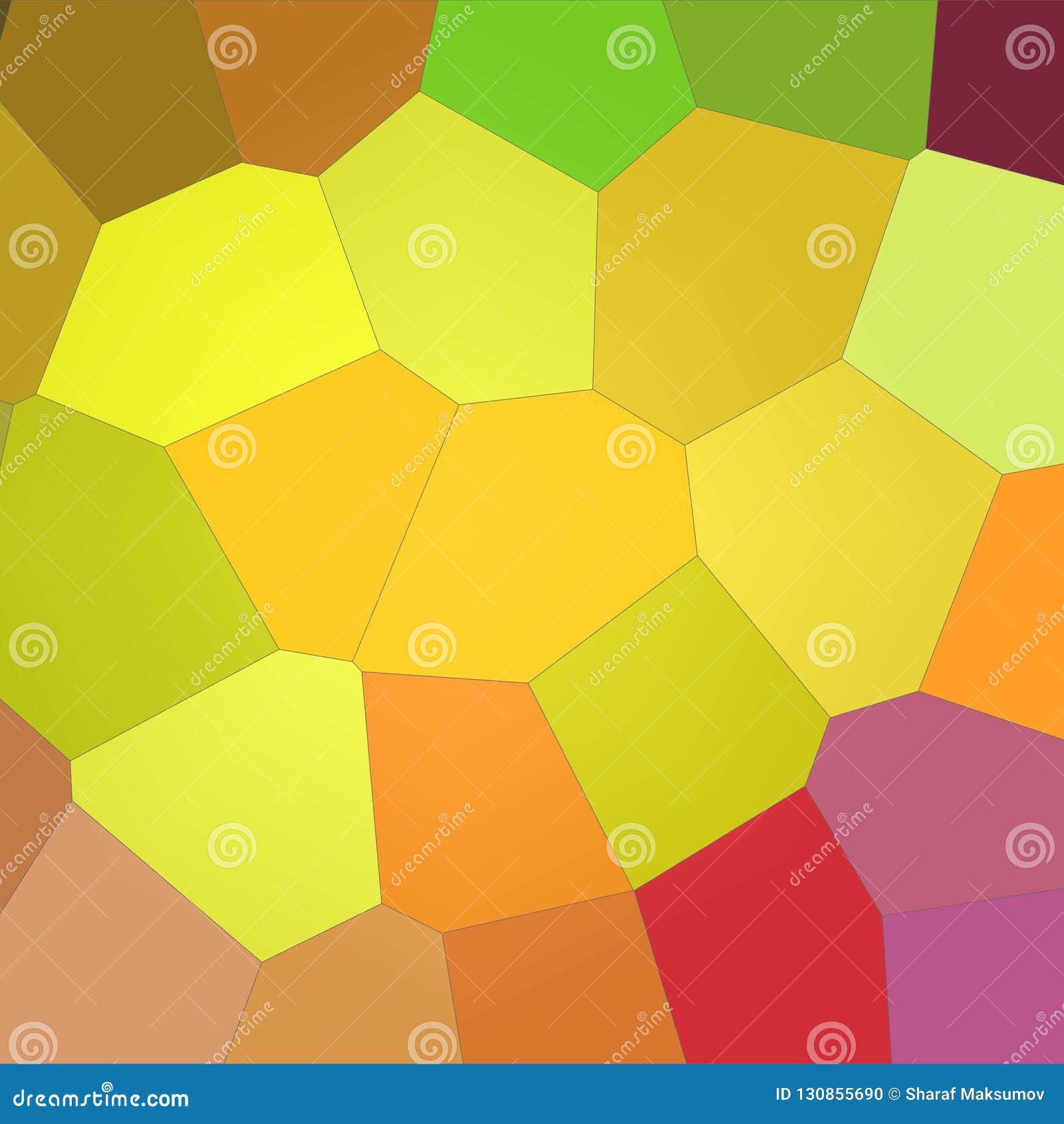 Ilustração do fundo gigante brilhante amarelo e roxo quadrado do limão - do hexágono