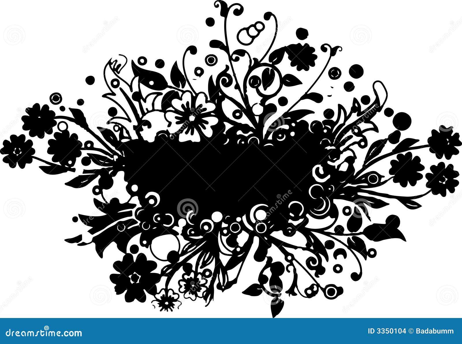 Ilustração do ramalhete da flor