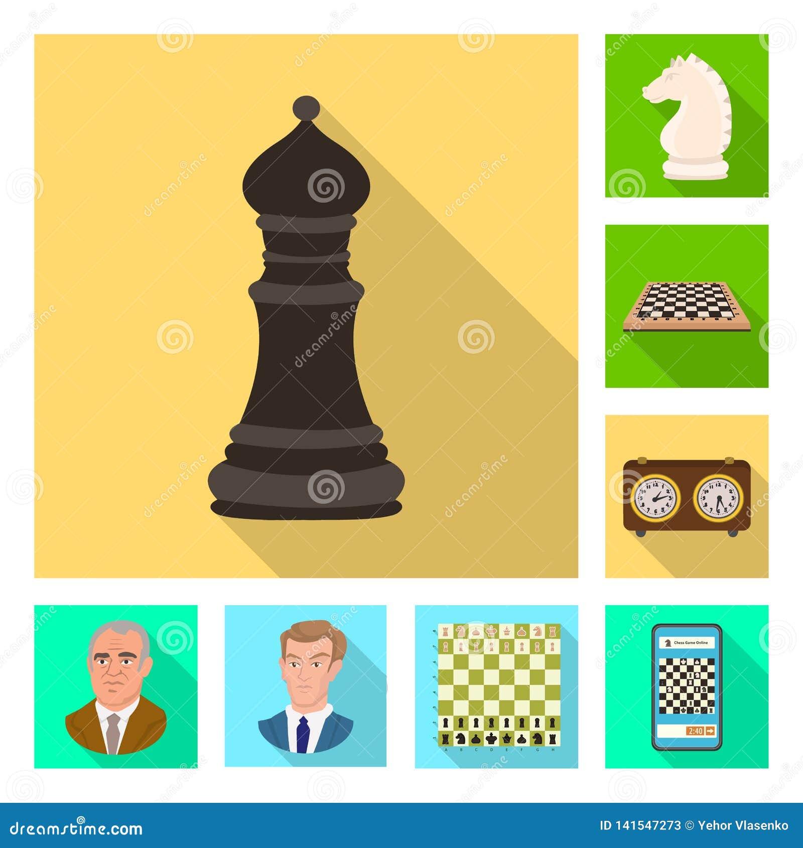 Ilustração do vetor do checkmate e do ícone fino Coleção do símbolo de ações do checkmate e do alvo para a Web