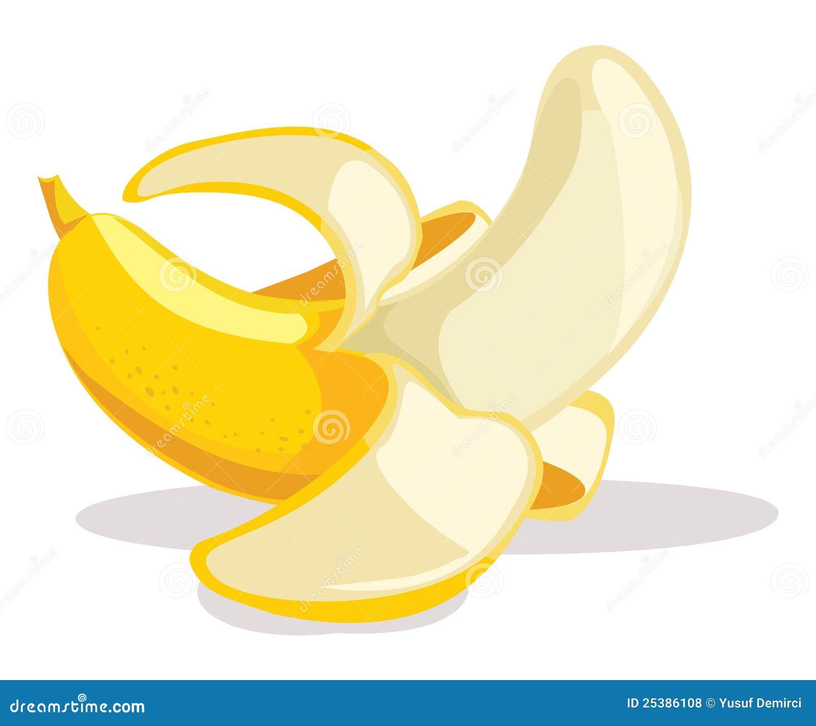 Ilustracao Do Vetor Da Banana Ilustracao Do Vetor Ilustracao De