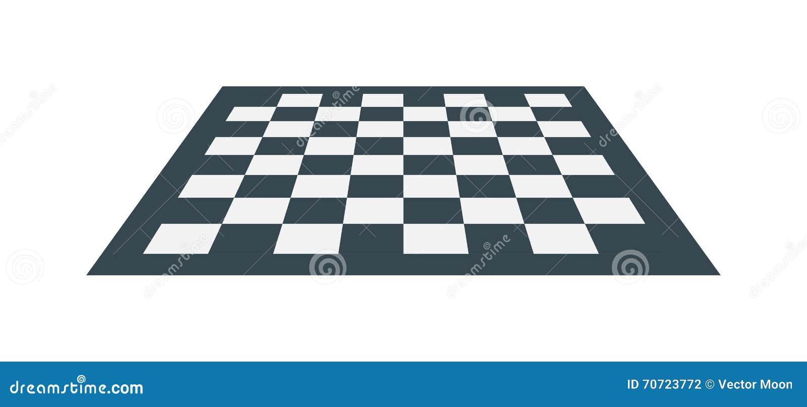 Ilustração do vetor da placa de xadrez