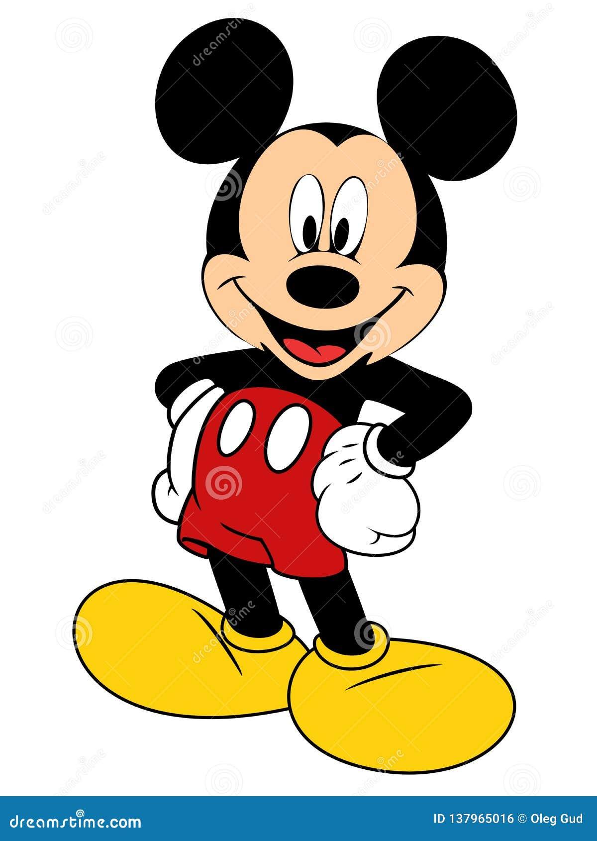 Ilustracao Do Vetor De Mickey Mouse Foto Editorial Ilustracao De