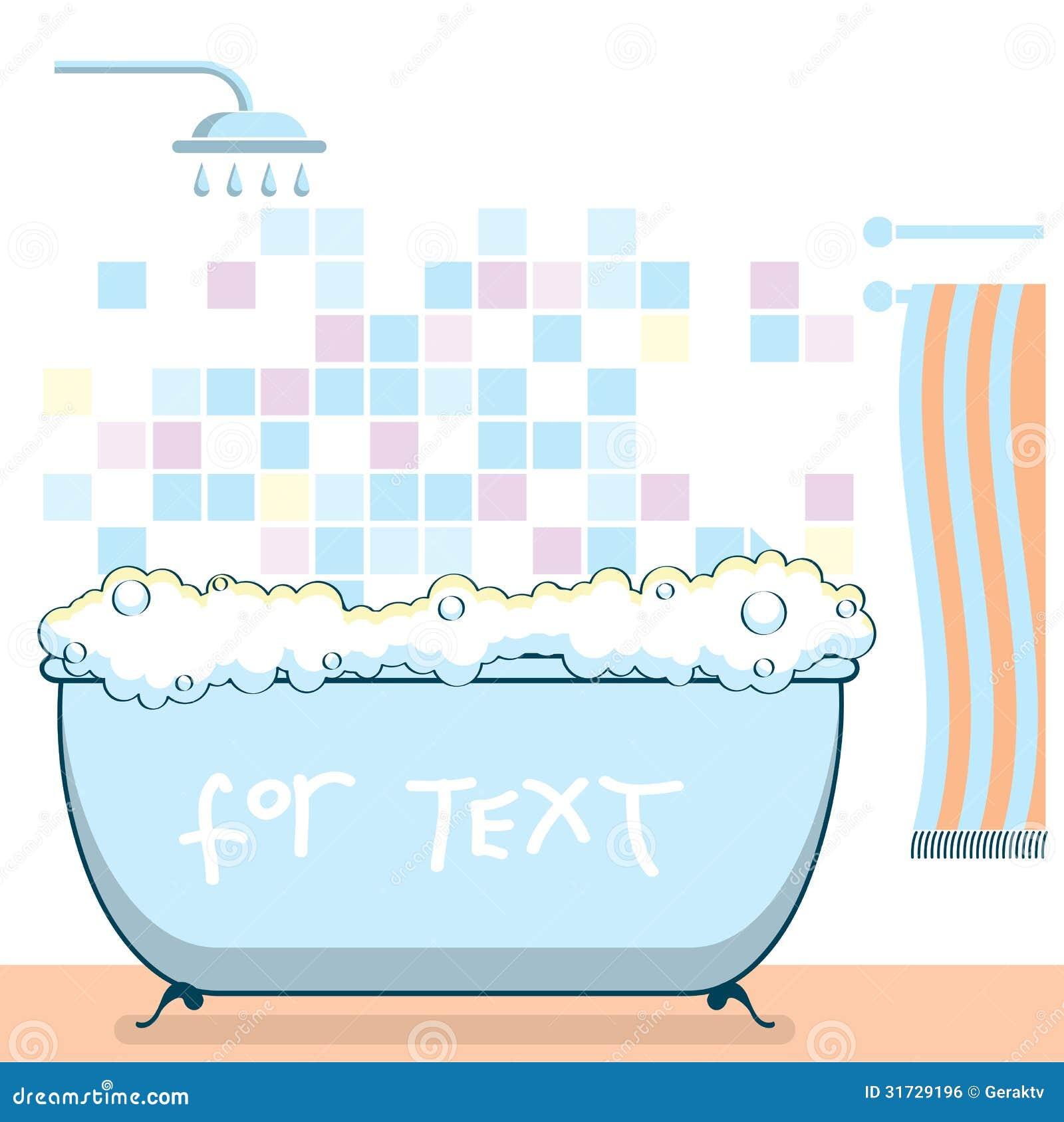 Ilustração Do Vetor Do Interior Do Banheiro Imagem de Stock Royalty Free  Im -> Banheiro Feminino Vetor Free