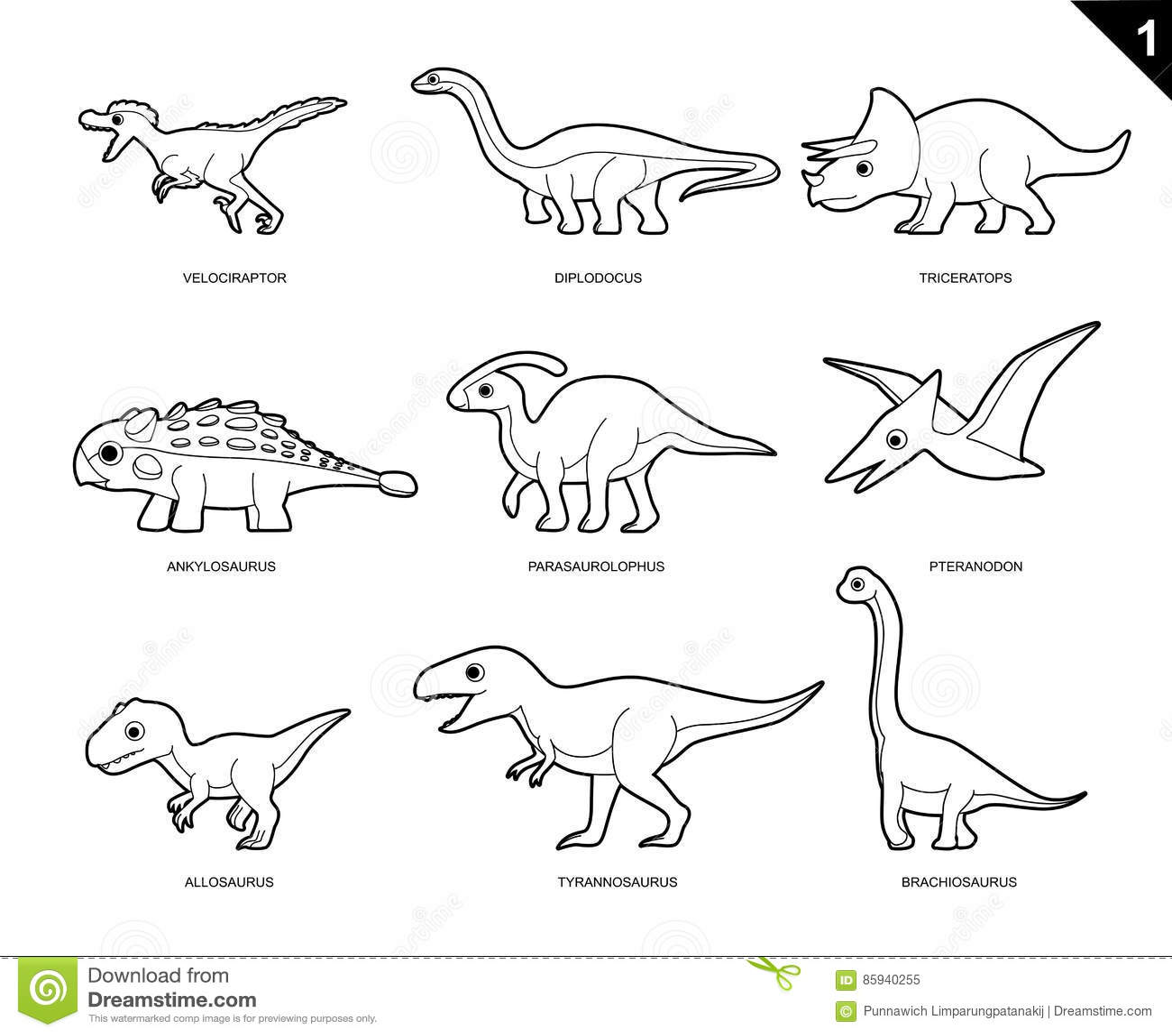 opinion album dinosaur coloring pages | A Ilustração Do Vetor Dos Desenhos Animados Do Livro Para ...