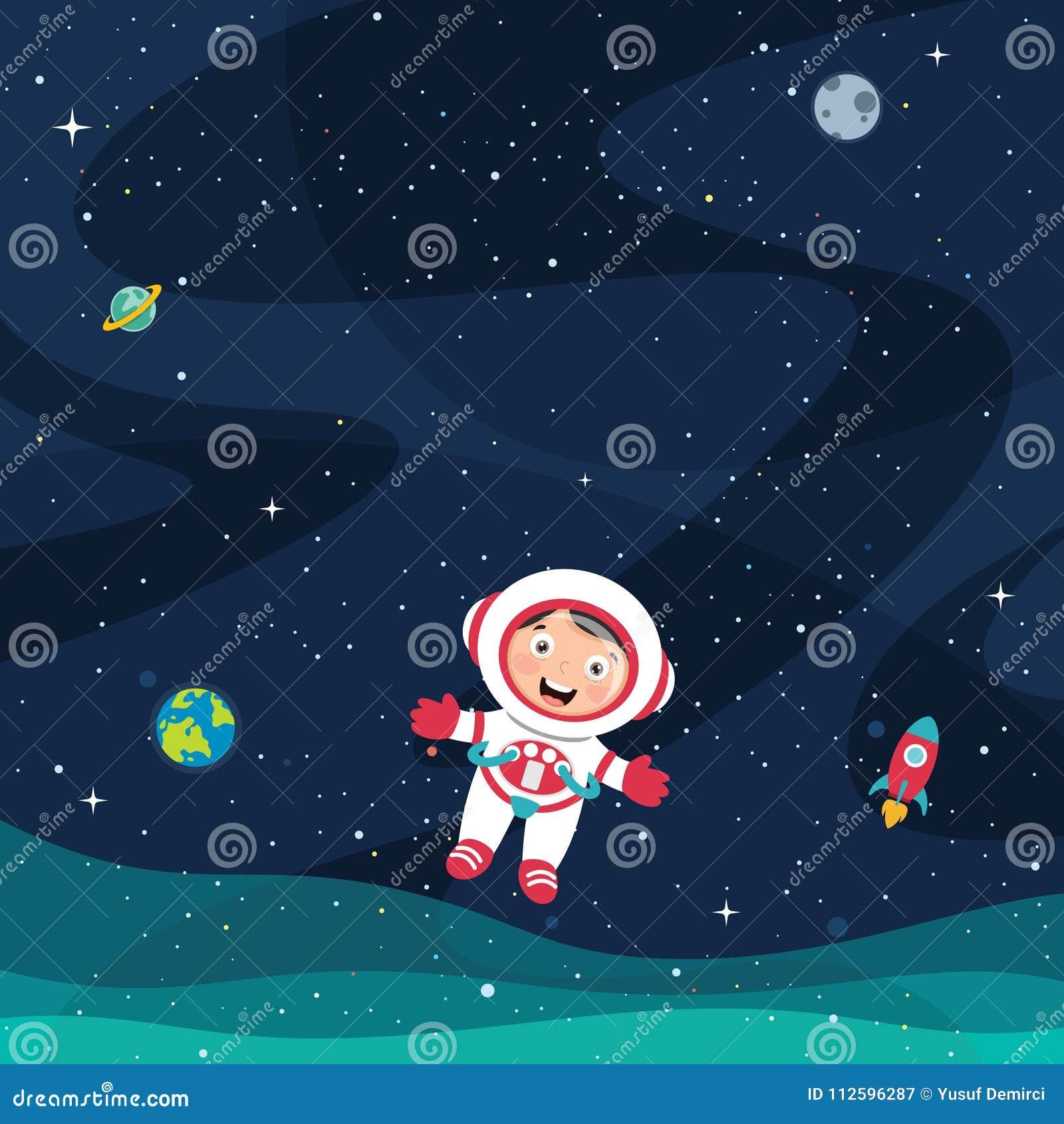 Ilustração do vetor do espaço