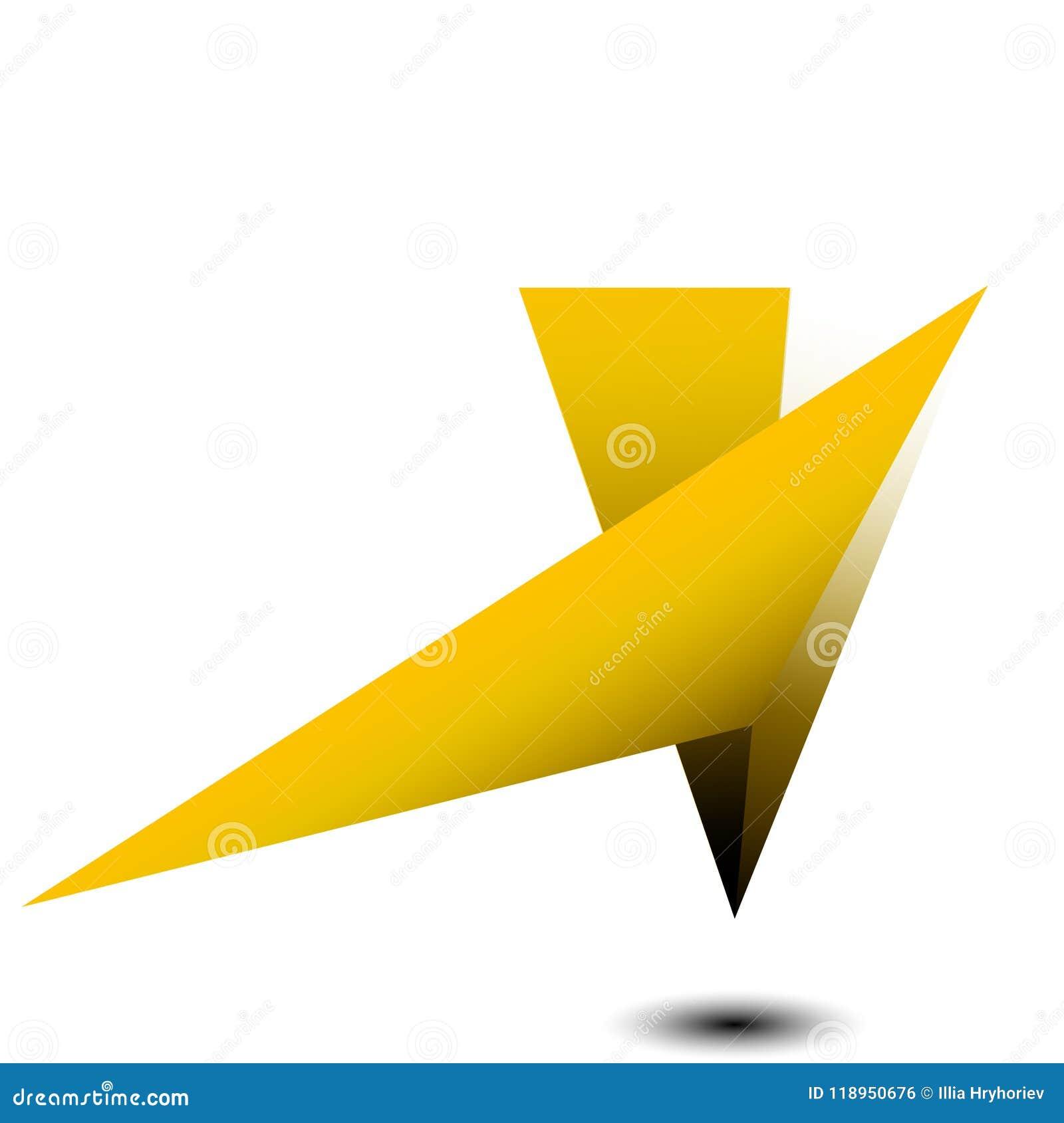 Ilustração do vetor Fundo da geometria do polígono Forma geométrica poligonal abstrata Explosão elemento dimensional da tecnologi