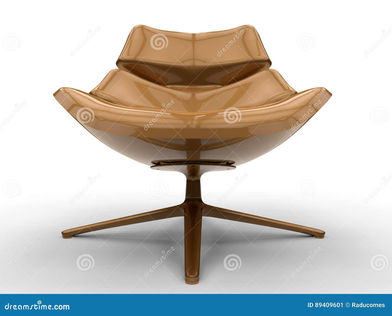 Ilustração luxuoso da cadeira
