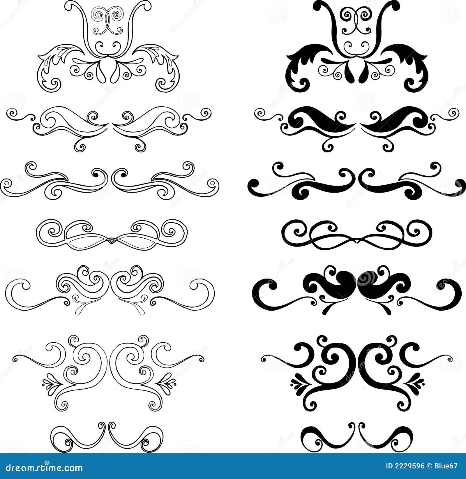Ilustrações decorativas