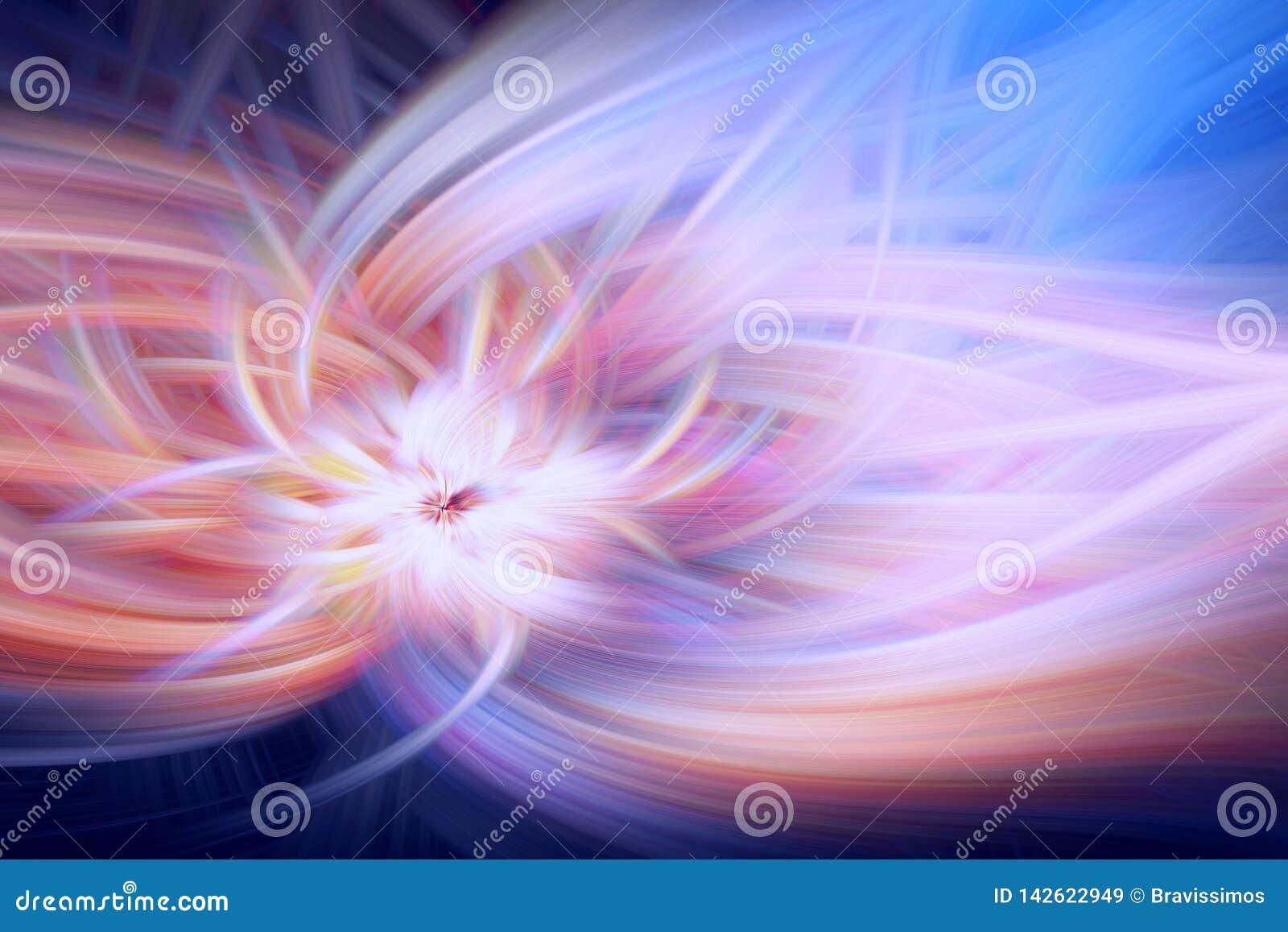 Ilustra??o do fractal do fulgor do cosmos do teste padr?o backdrop