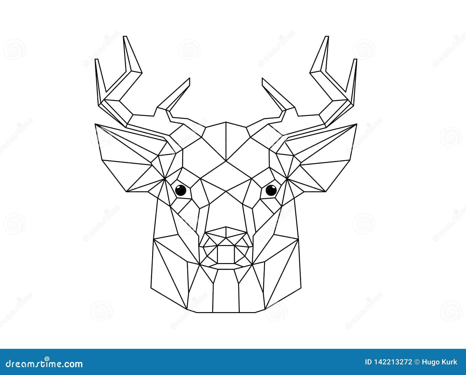 Ilustra??o principal dos cervos