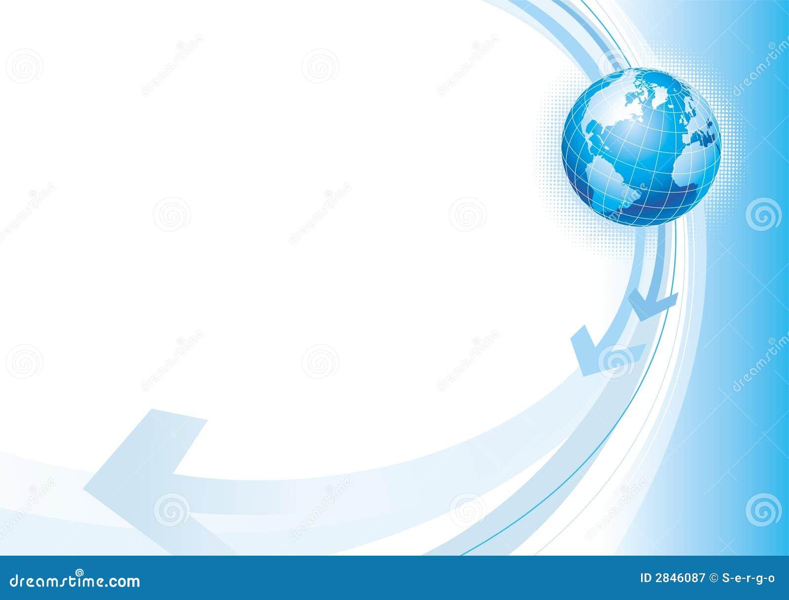 Ilustración con el globo
