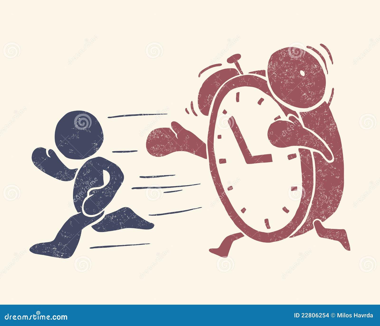 Ilustración conceptual de la vendimia del tiempo