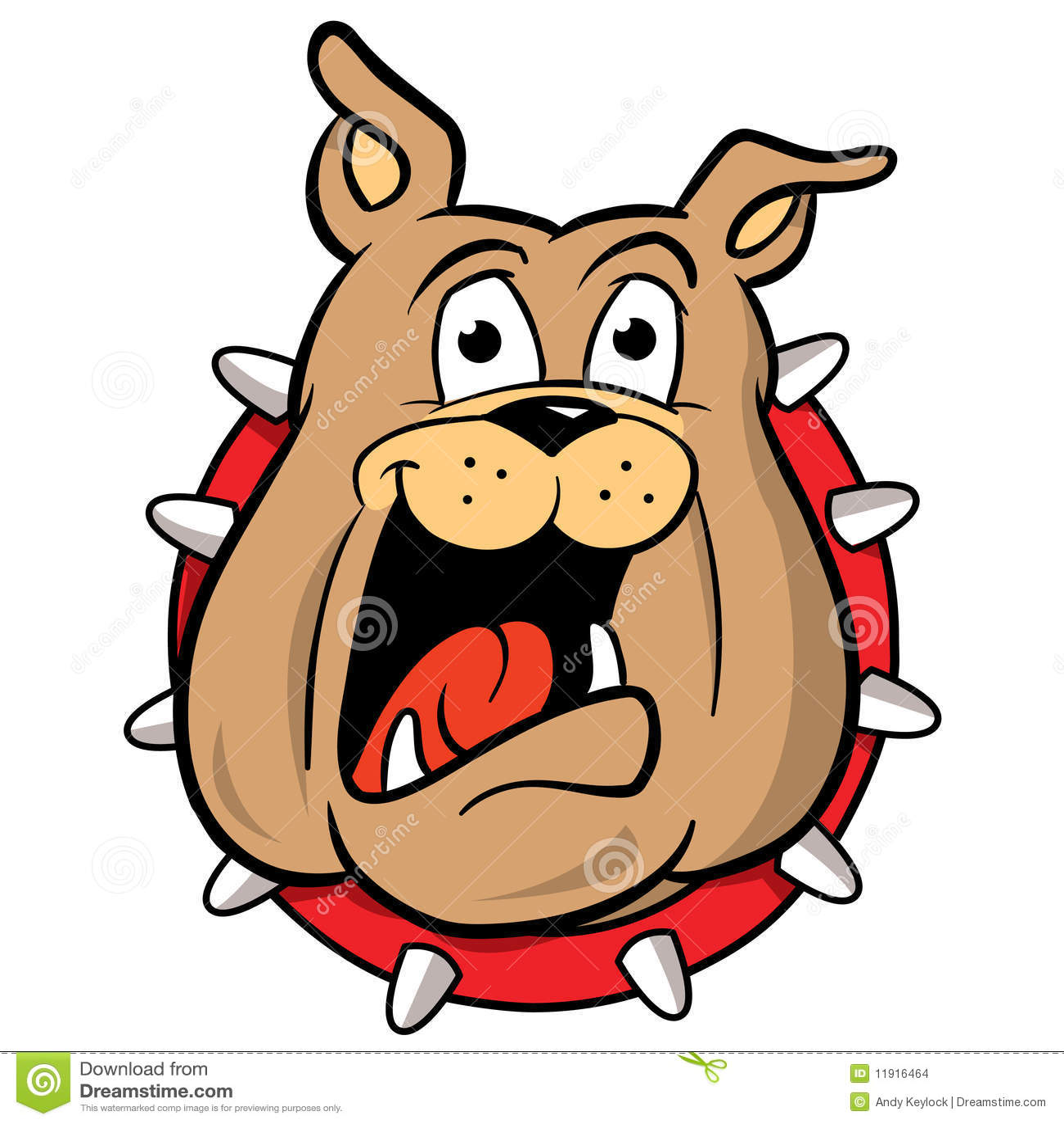 Ilustración de la historieta de la mascota del dogo