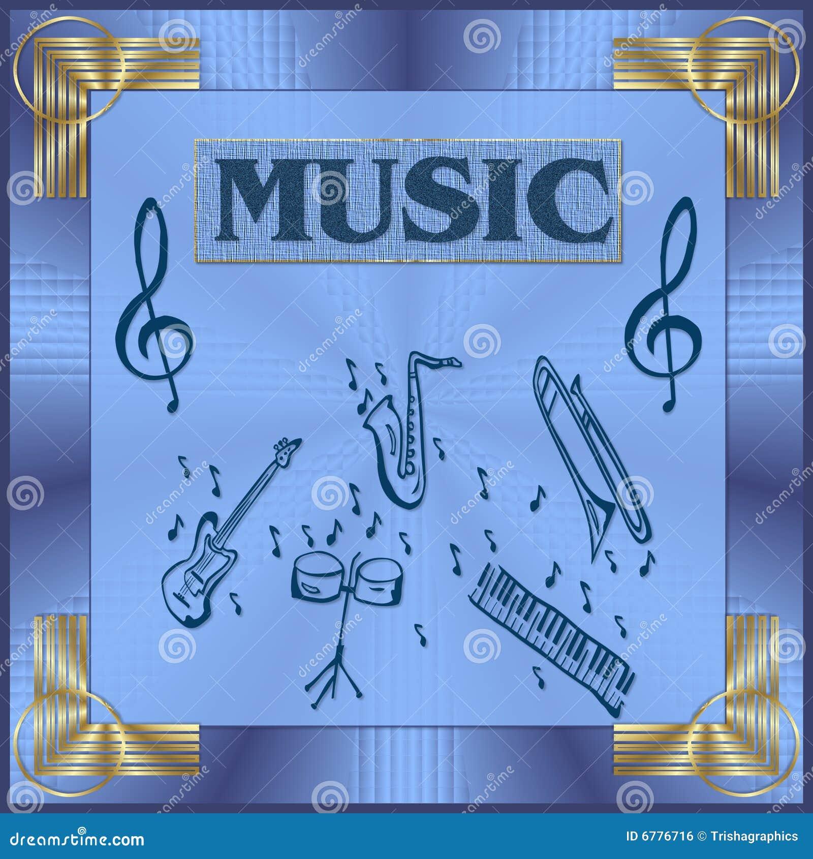 Ilustración de la música