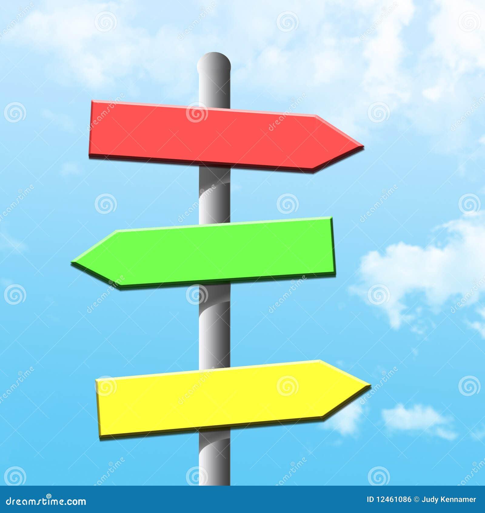Resultado de imagen de flechas que indican varios caminos