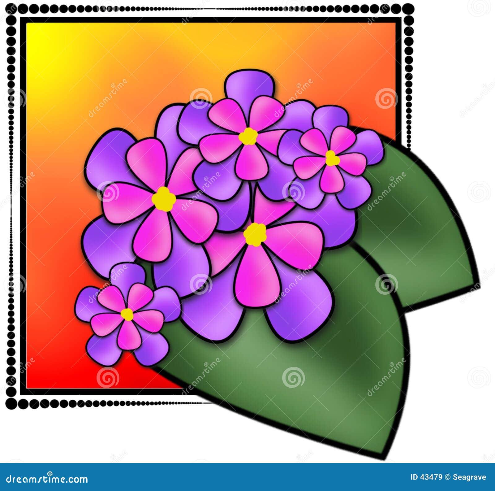 Download Ilustración de las flores stock de ilustración. Ilustración de ilustraciones - 43479