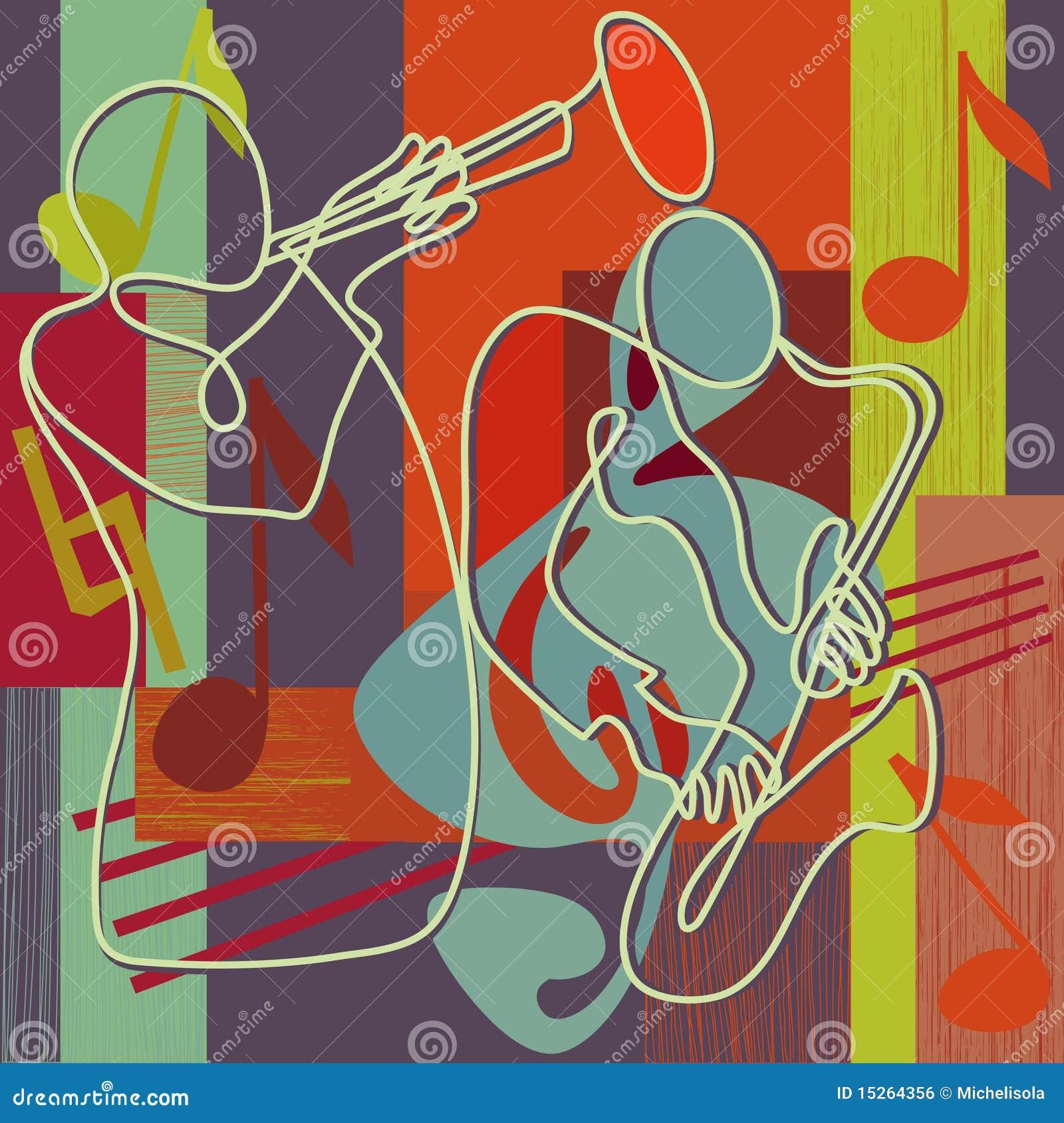 Ilustración del festival de jazz