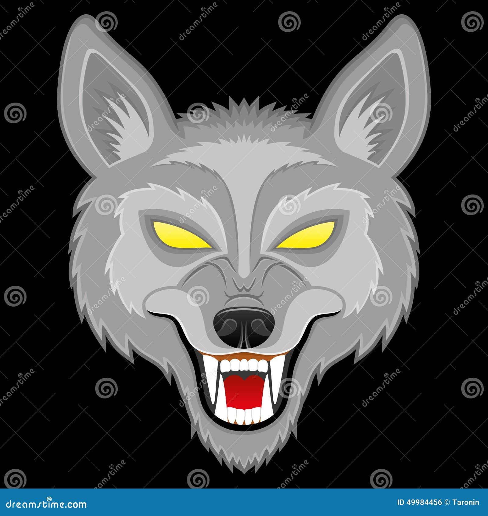 Ilustración del vector Lobo