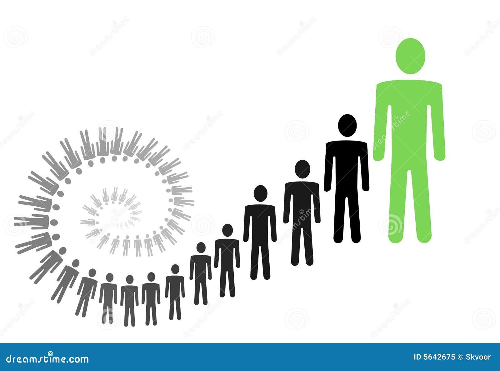 Ilustración personal del crecimiento