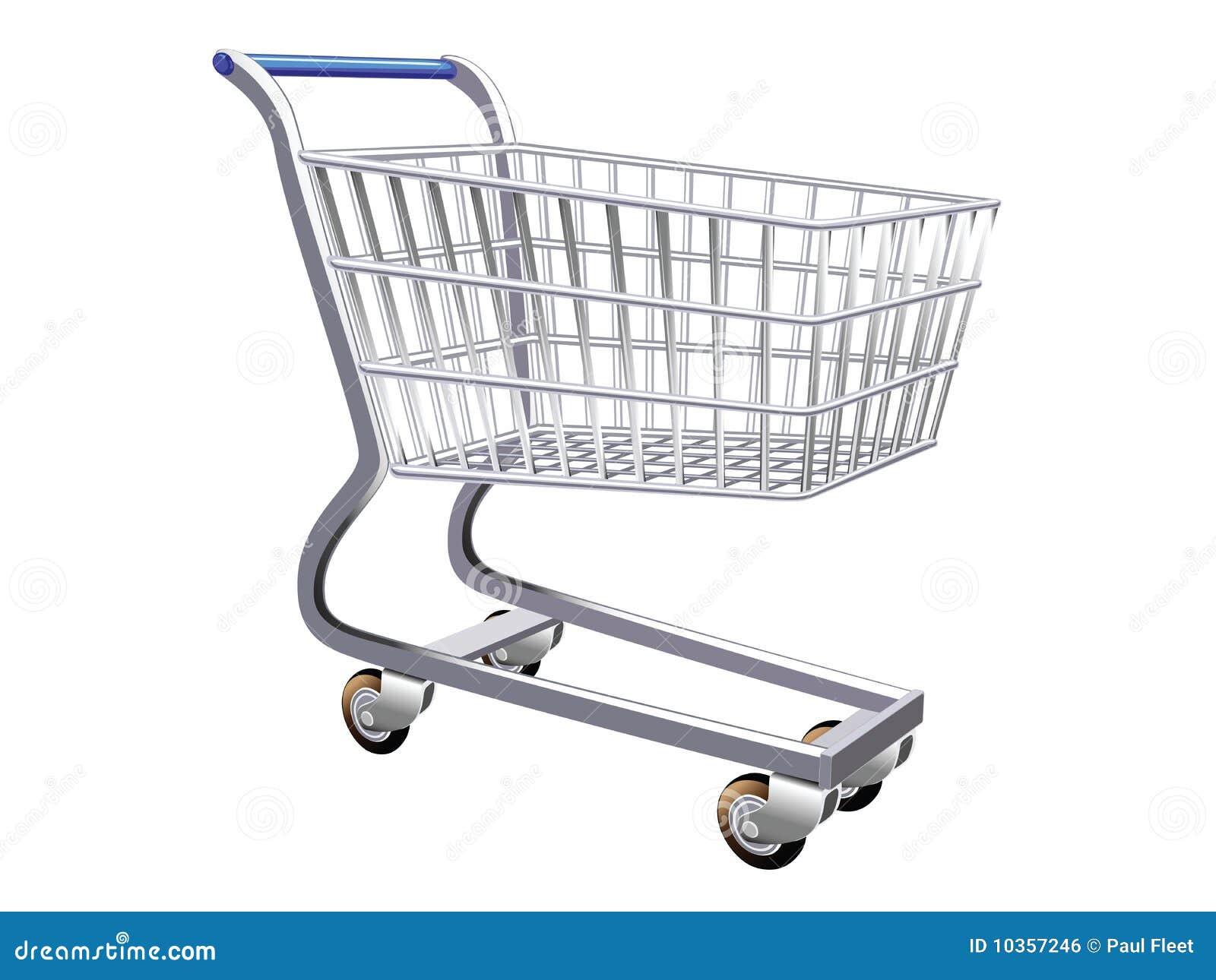 Ilustraci n de un carro de compras estilizado imagen de - Carrito dela compra ...