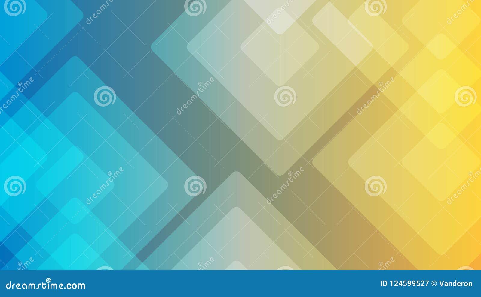Ilustraciones abstractas o diversas del fondo colorido del diseño, tarjetas de visita Plantilla geométrica futura con la transici