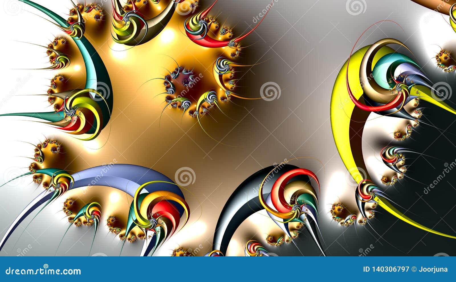 Ilustraciones del fractal