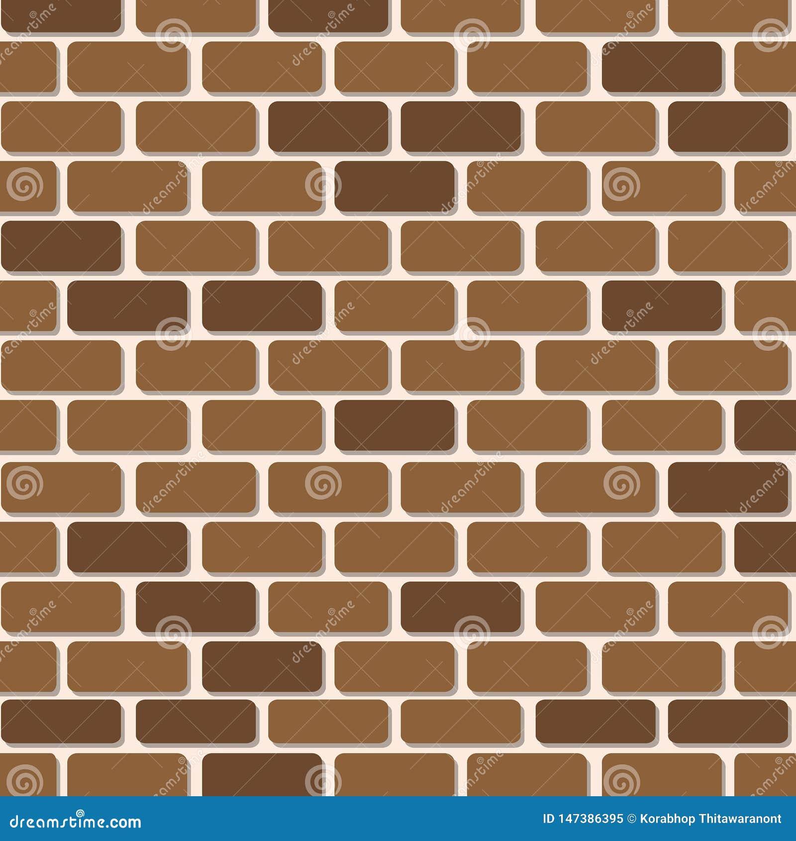 Ilustraciones del papel de la pared de ladrillo para el fondo
