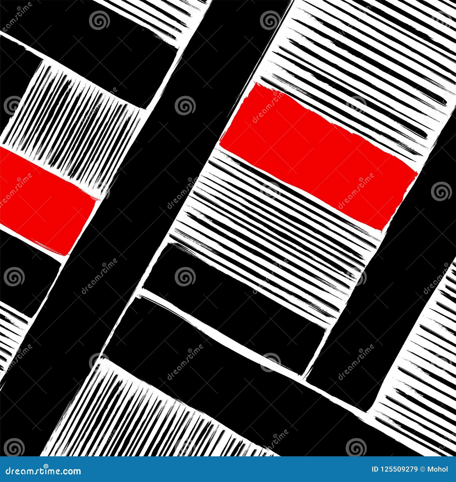 Ilustraciones, movimientos y líneas geométricos abstractos