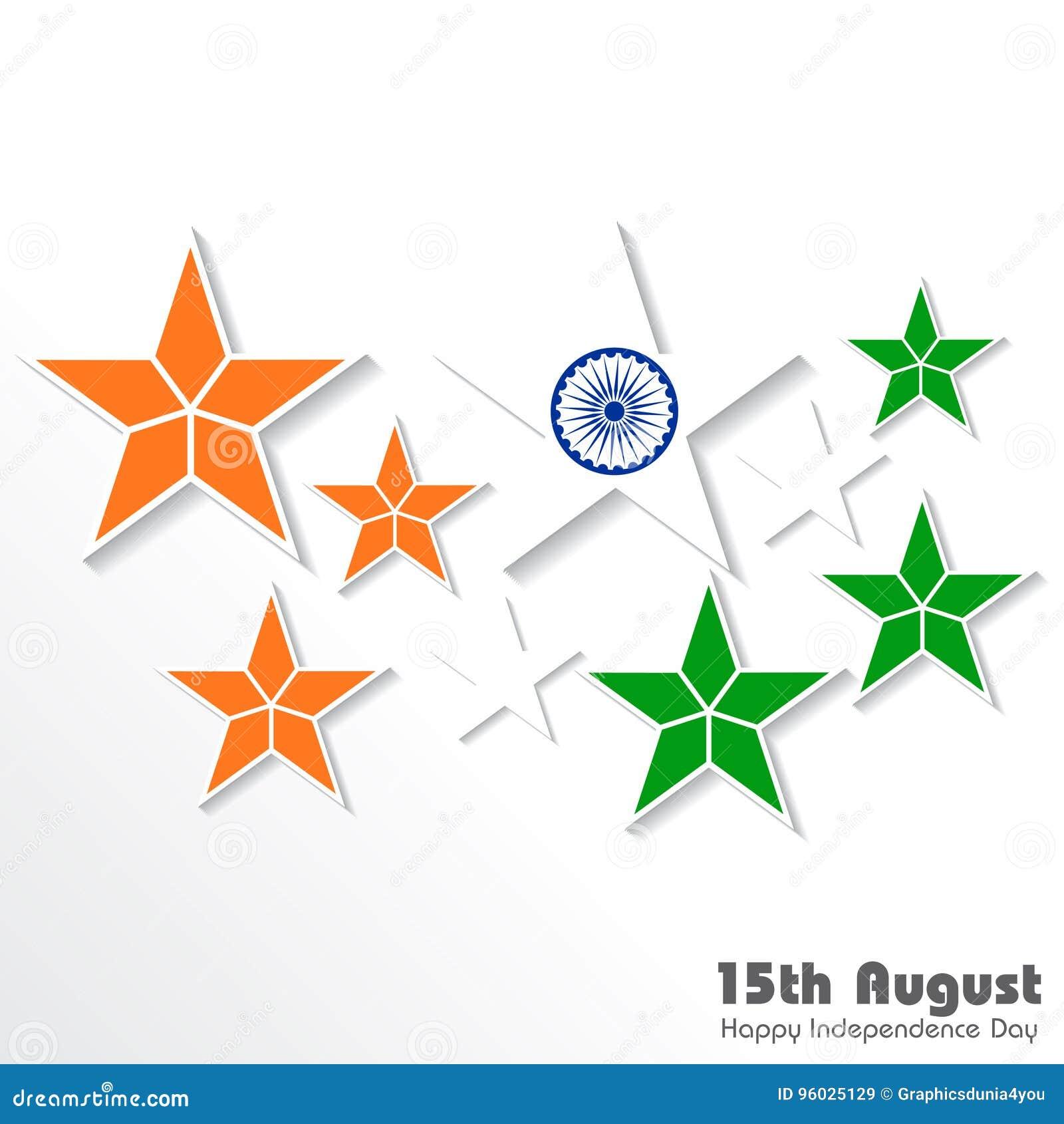 Ilustracja dla dnia niepodległości ind