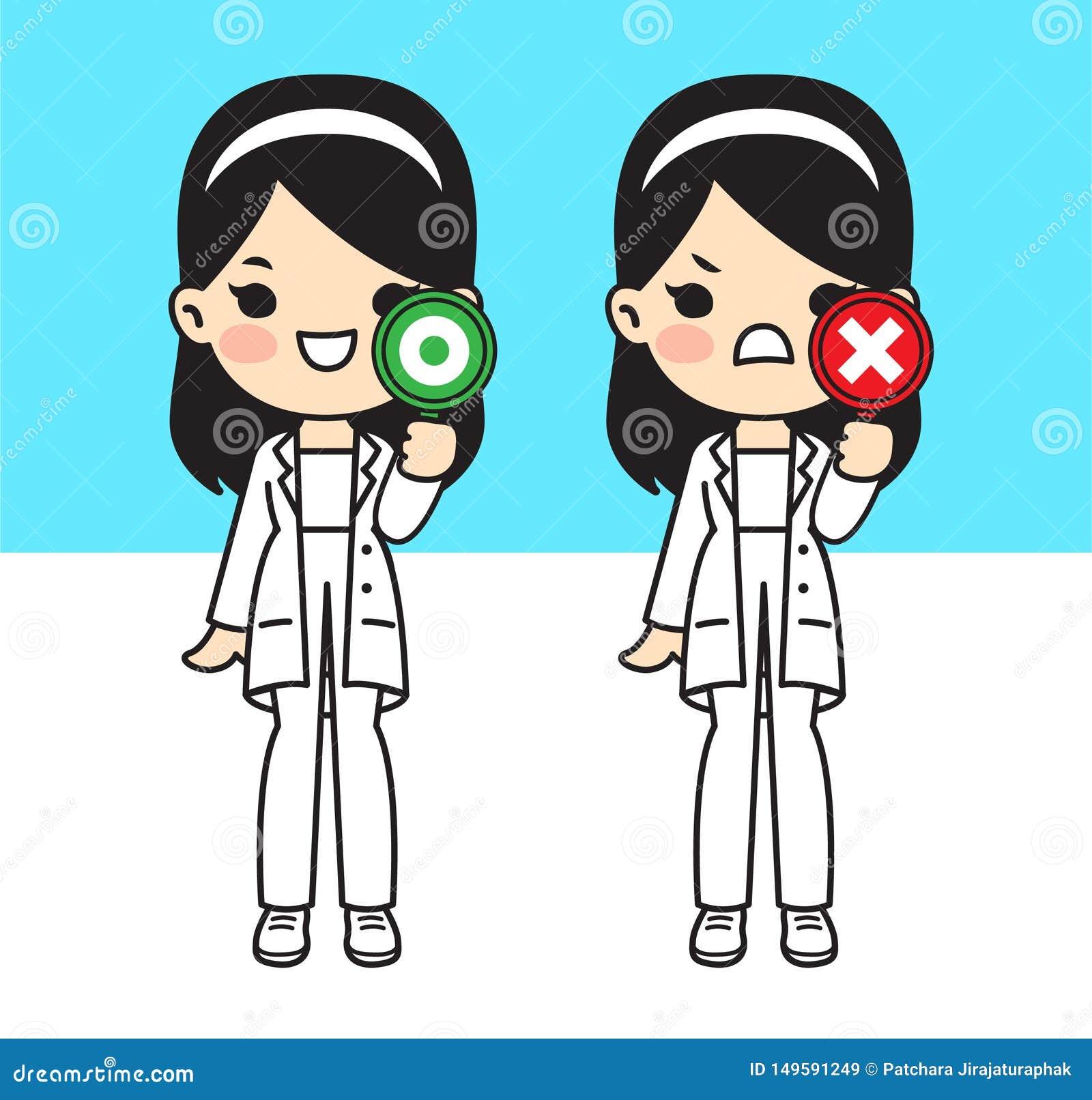 Ilustracja dla lekarki ?liczny styl