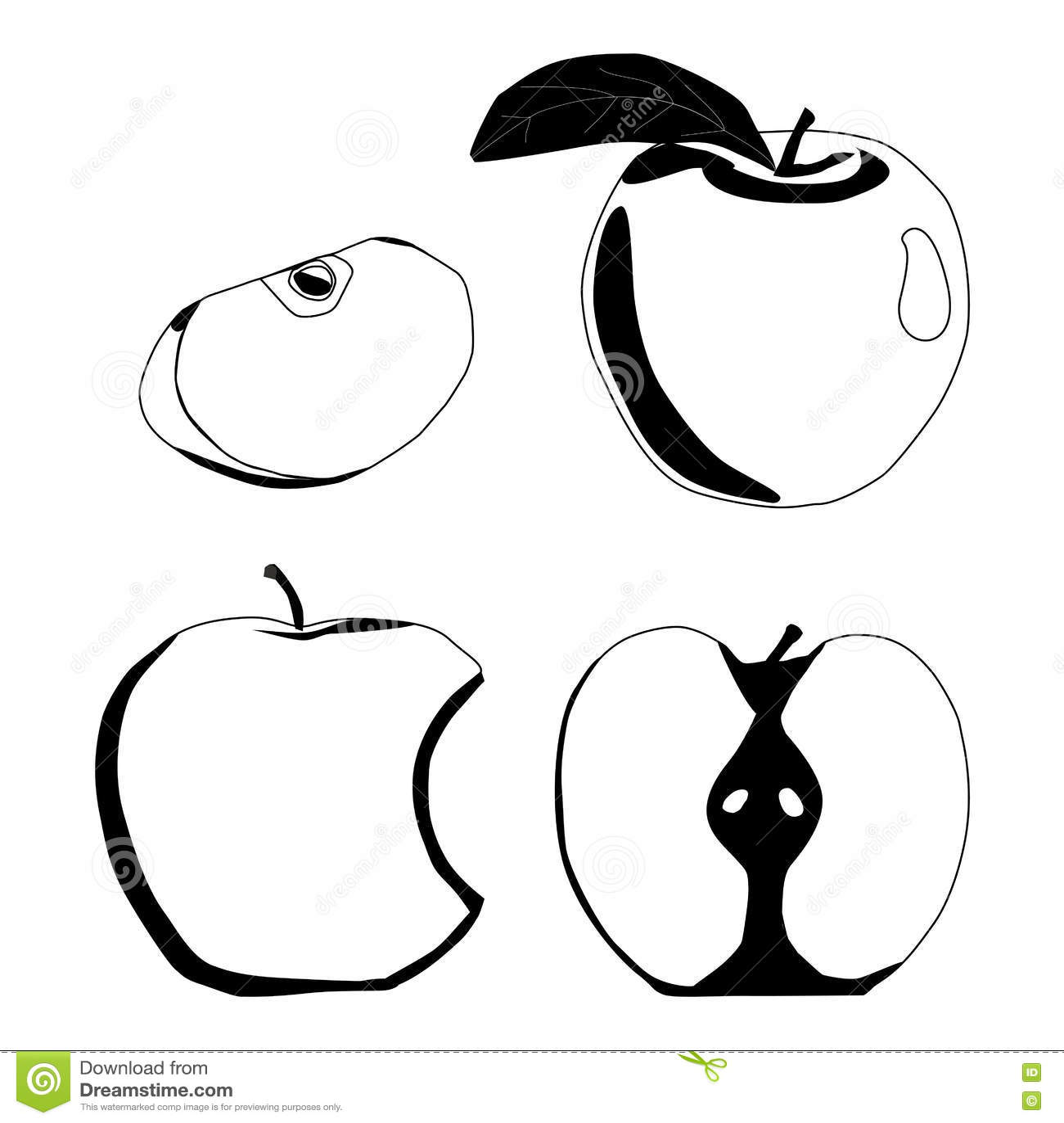 Ilustracja logo dla Apple