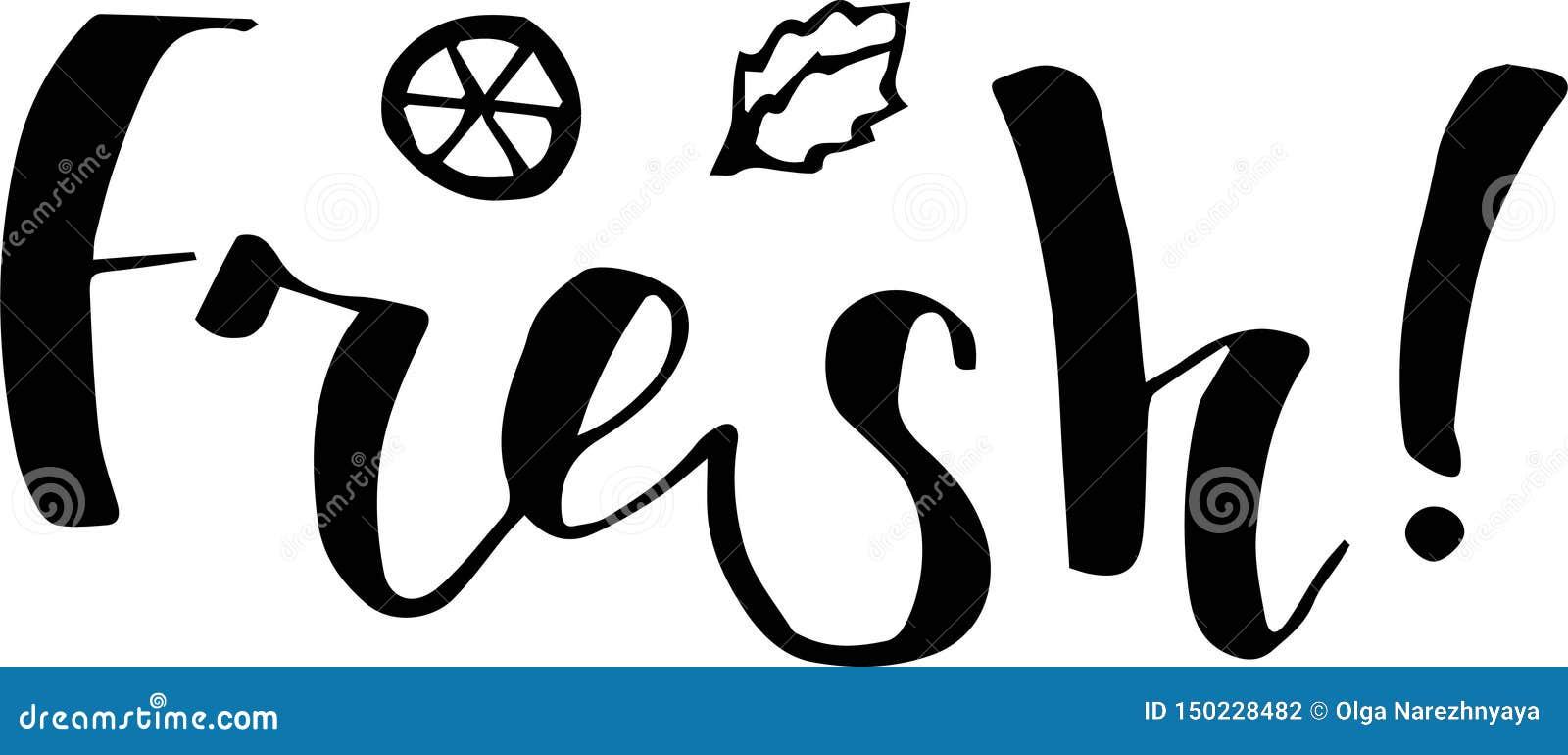 Ilustracja majcher, emblematy logo i etykietki dla, cytryny i pomarańcze, świeży cytrusa sok z literowanie składem