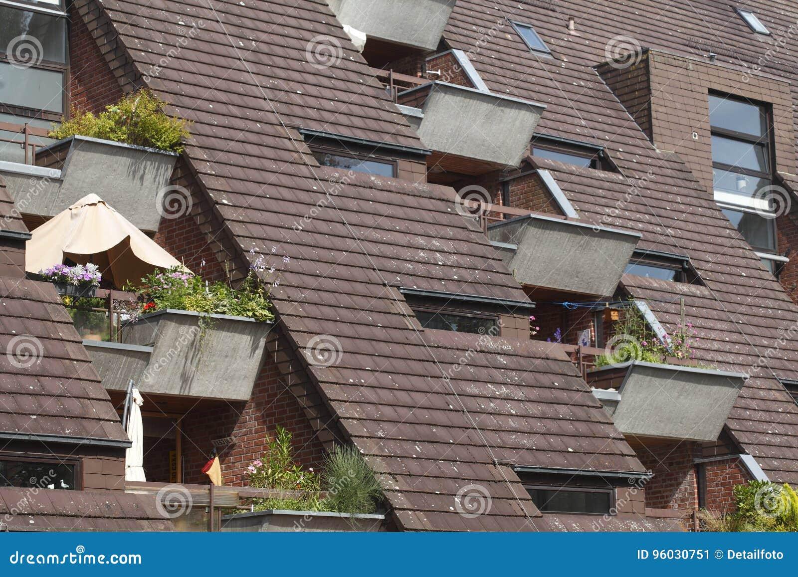 Ilustracja mieszkaniowy domowy wektor