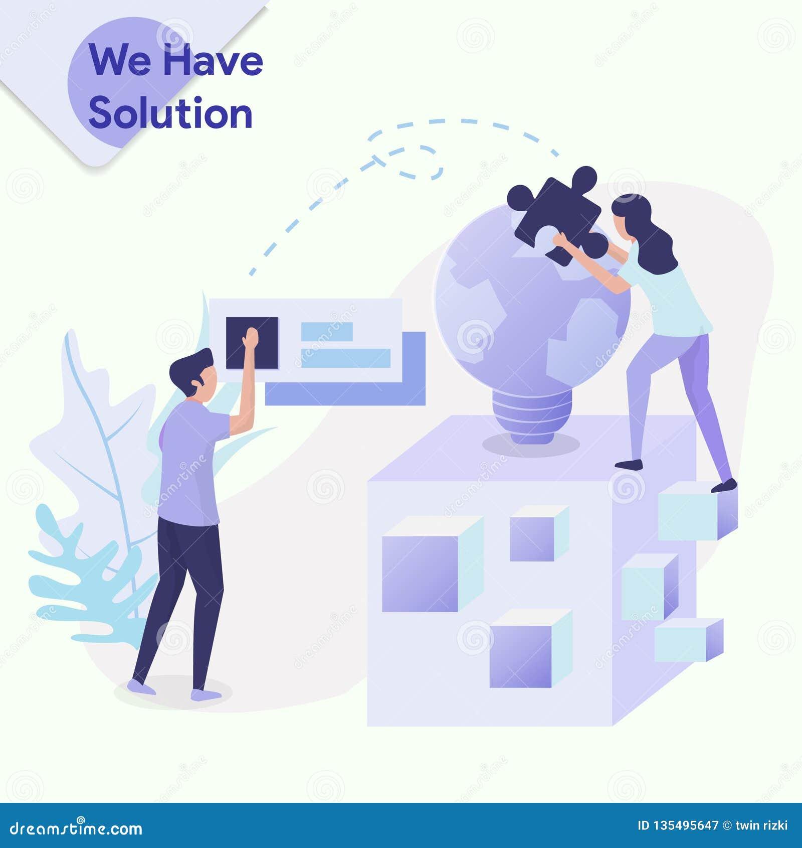 Ilustracja rozwiązanie