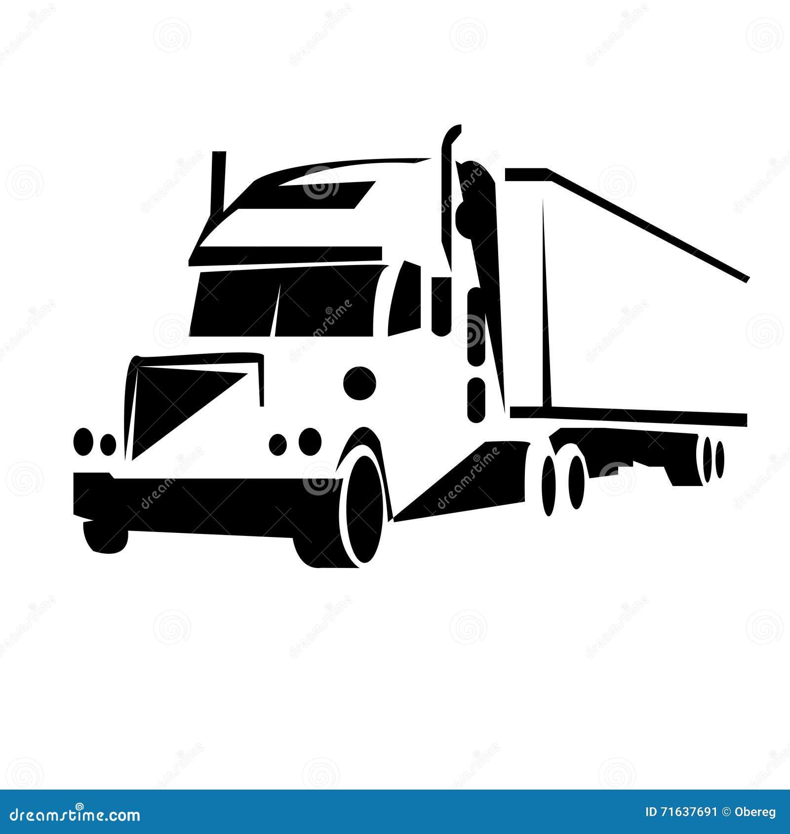 Design Trucking Logo