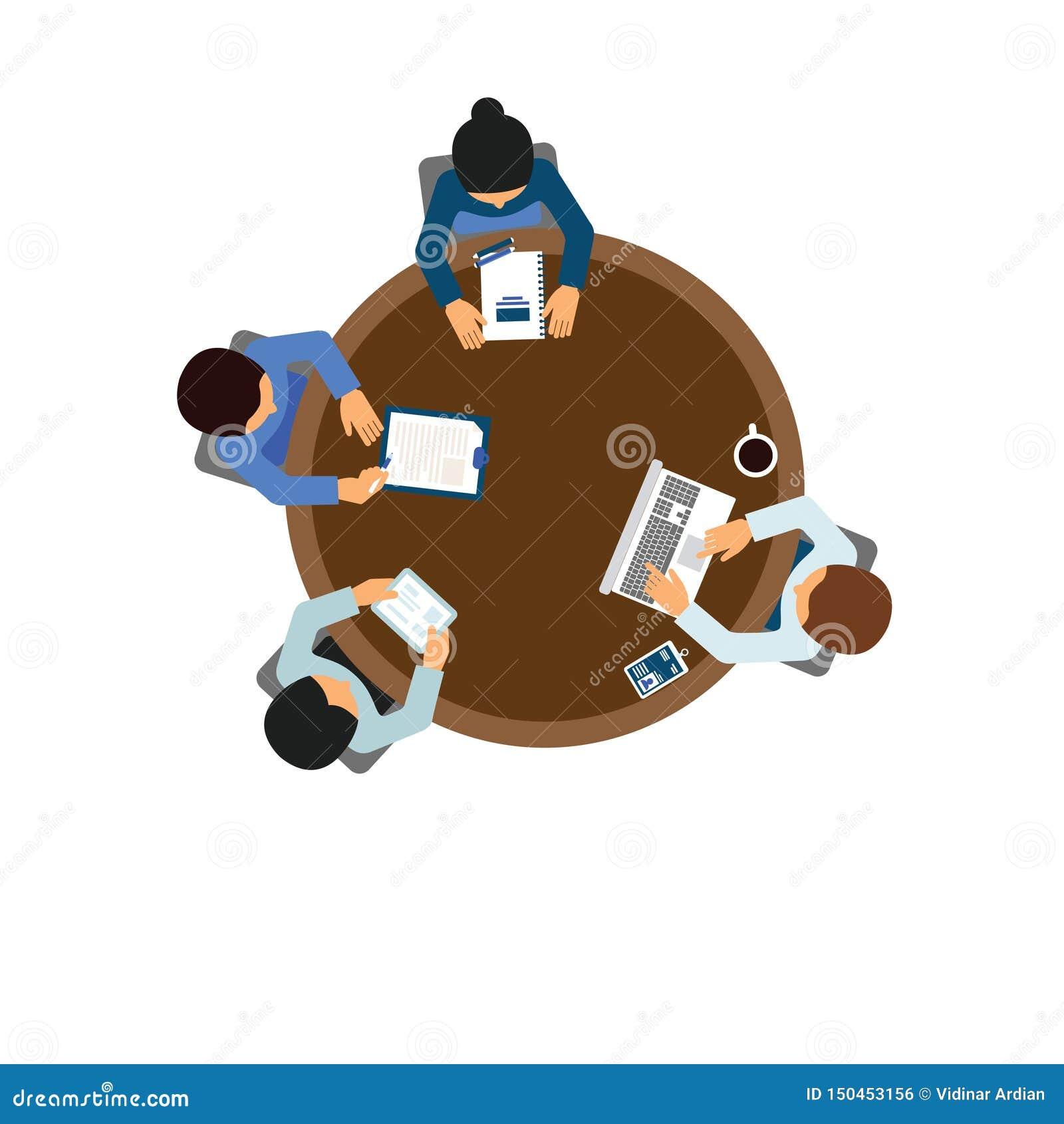 Ilustration вектора работника человека характера