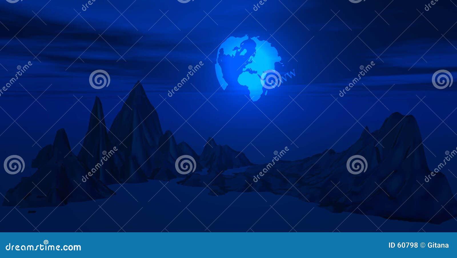 Ilustration du monde