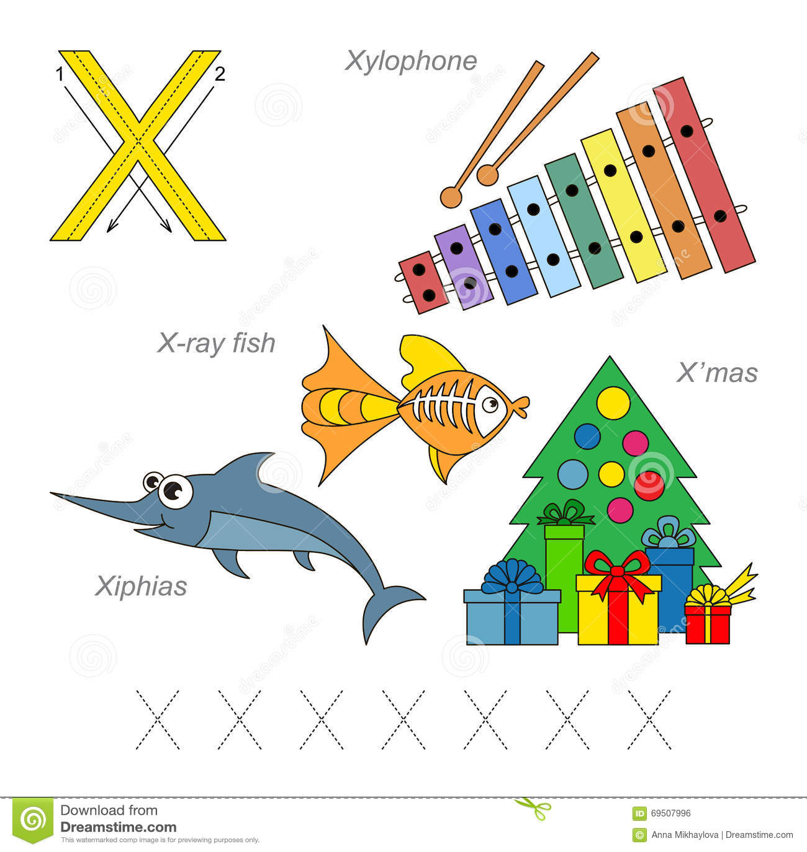 Imágenes Para La Letra X Ilustración Del Vector Ilustración De Nuevo 69507996