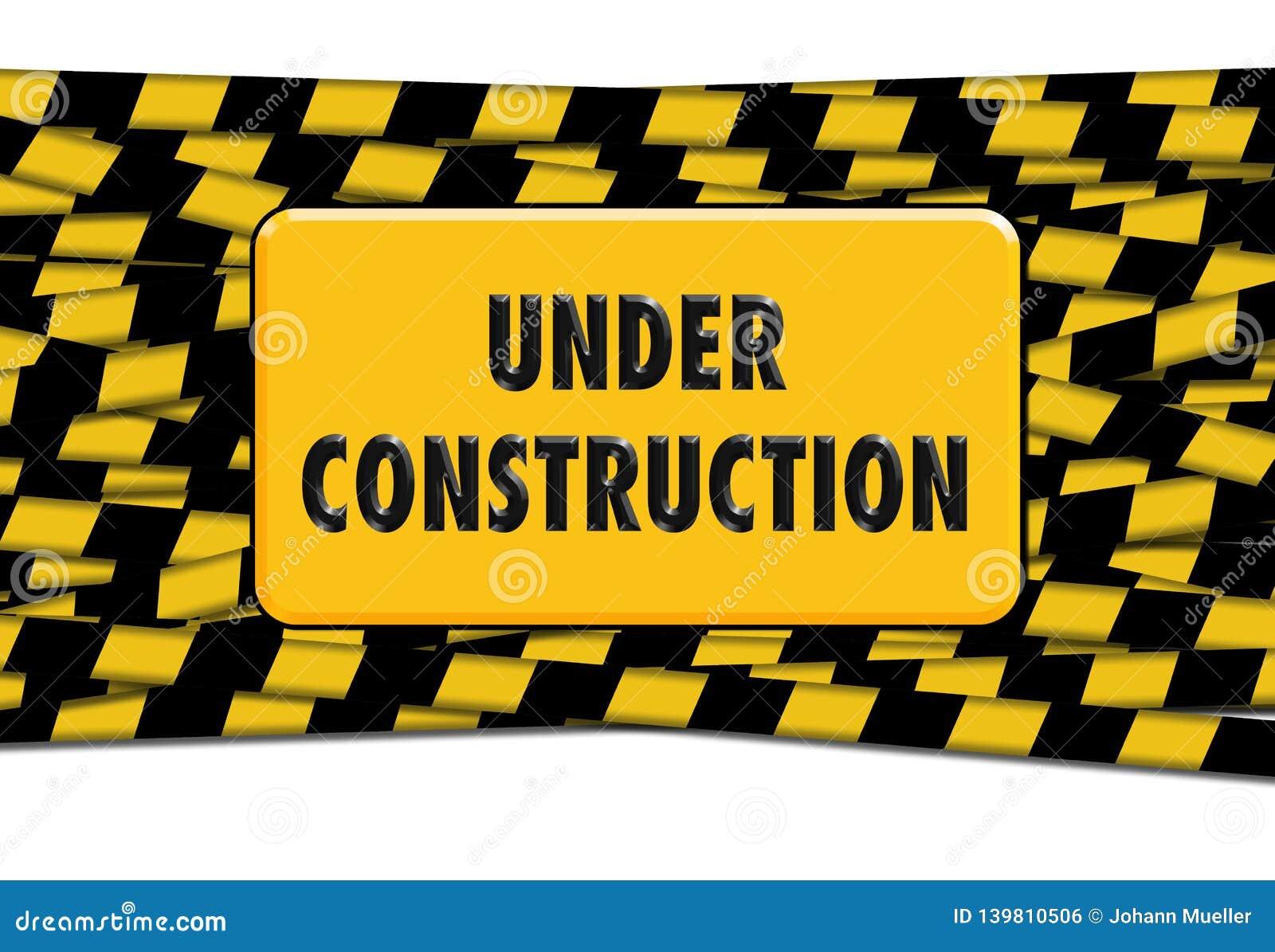 Im Bau Zeichen