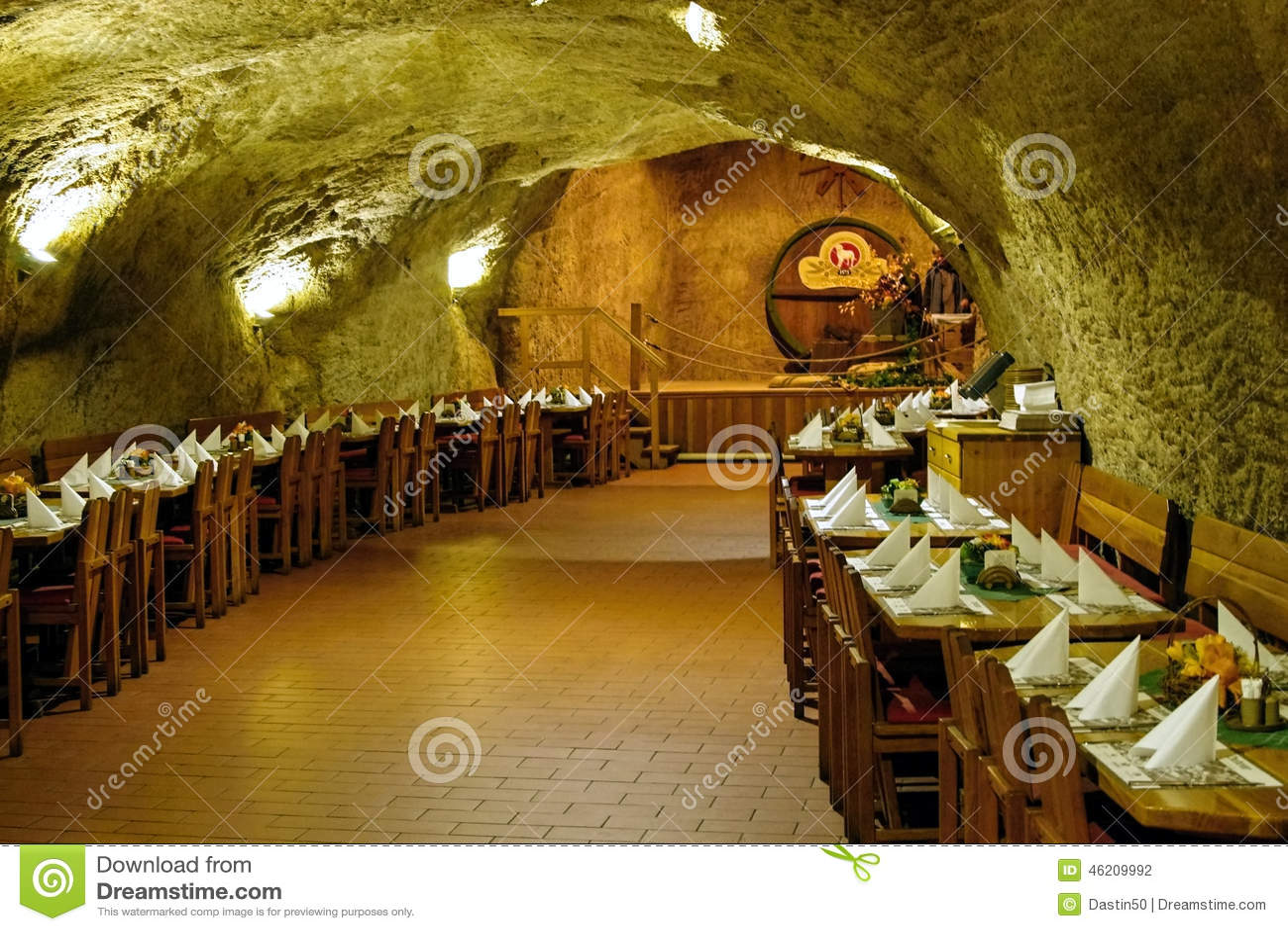 Im Felsen Restaurant Chodova Plana Tschechische Republik Redaktionelles Stockfotografie Bild Von Gaststatte Brauerei 46209992