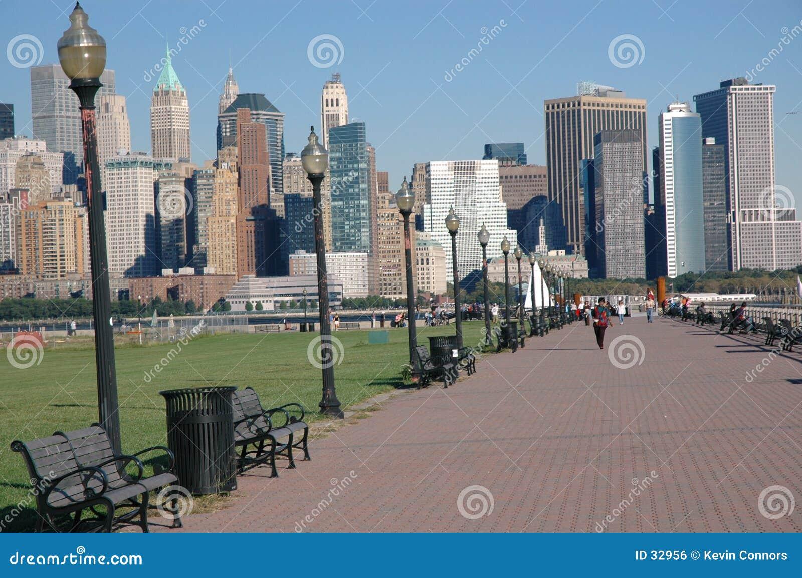 Im Stadtzentrum gelegene Ansicht