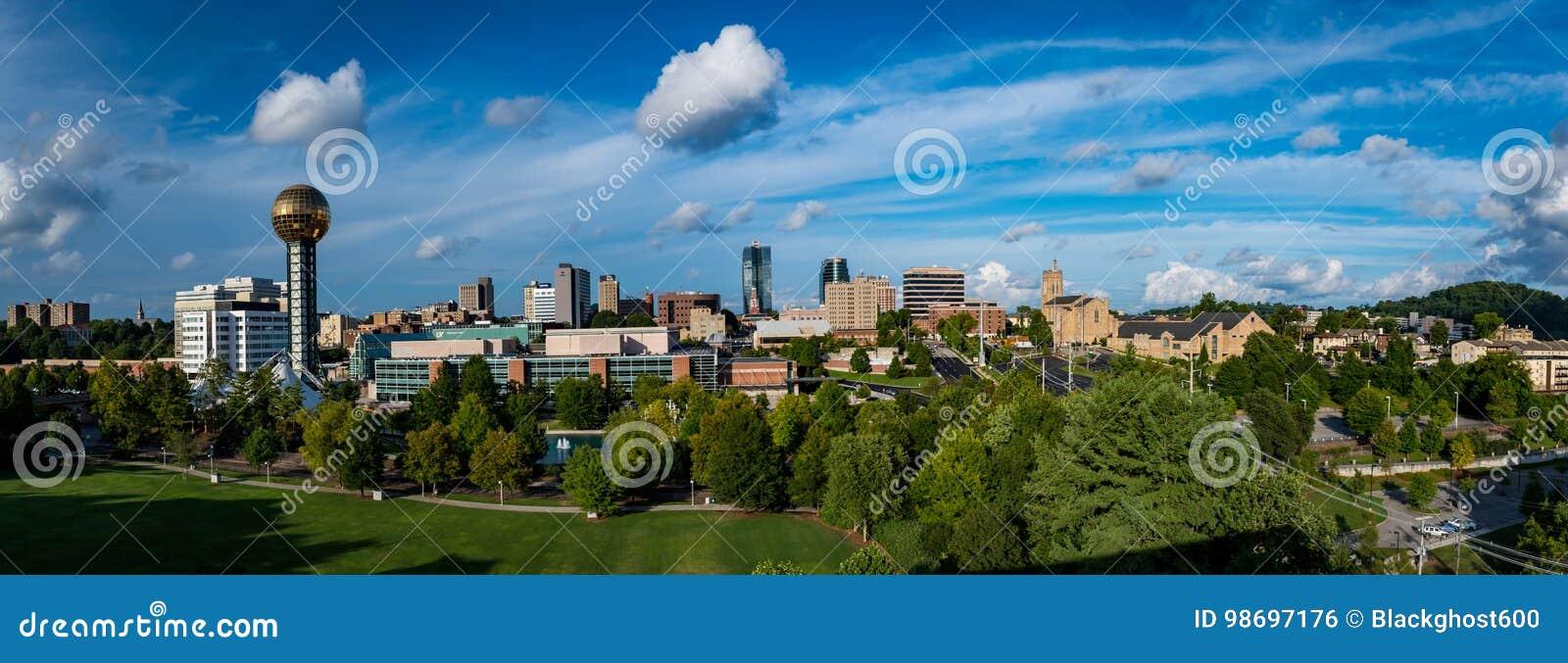 Im Stadtzentrum gelegener Knoxville Tennessee USA