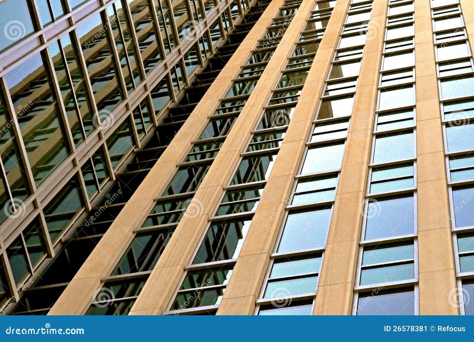 Im Stadtzentrum gelegenes Indianapolis-Gebäude