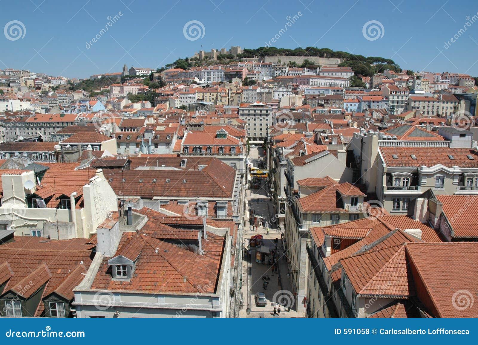Im Stadtzentrum gelegenes Lissabon