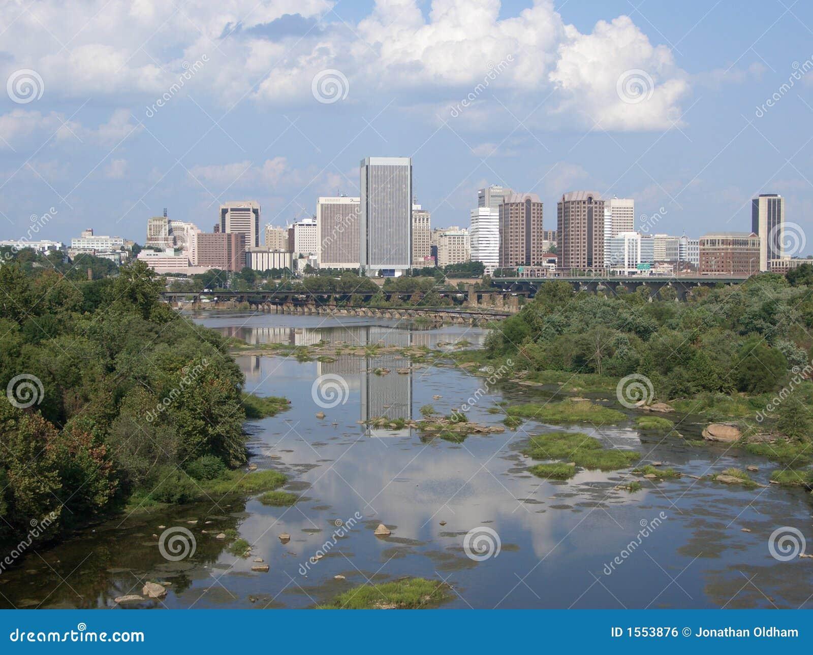 Im Stadtzentrum gelegenes Richmond Virginia