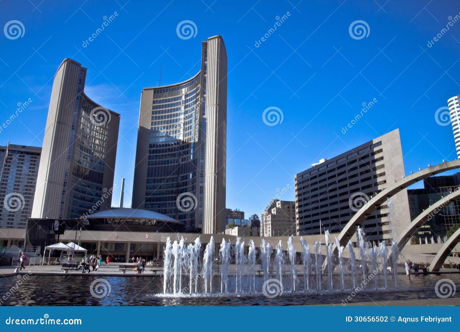 Im Stadtzentrum gelegenes Toronto