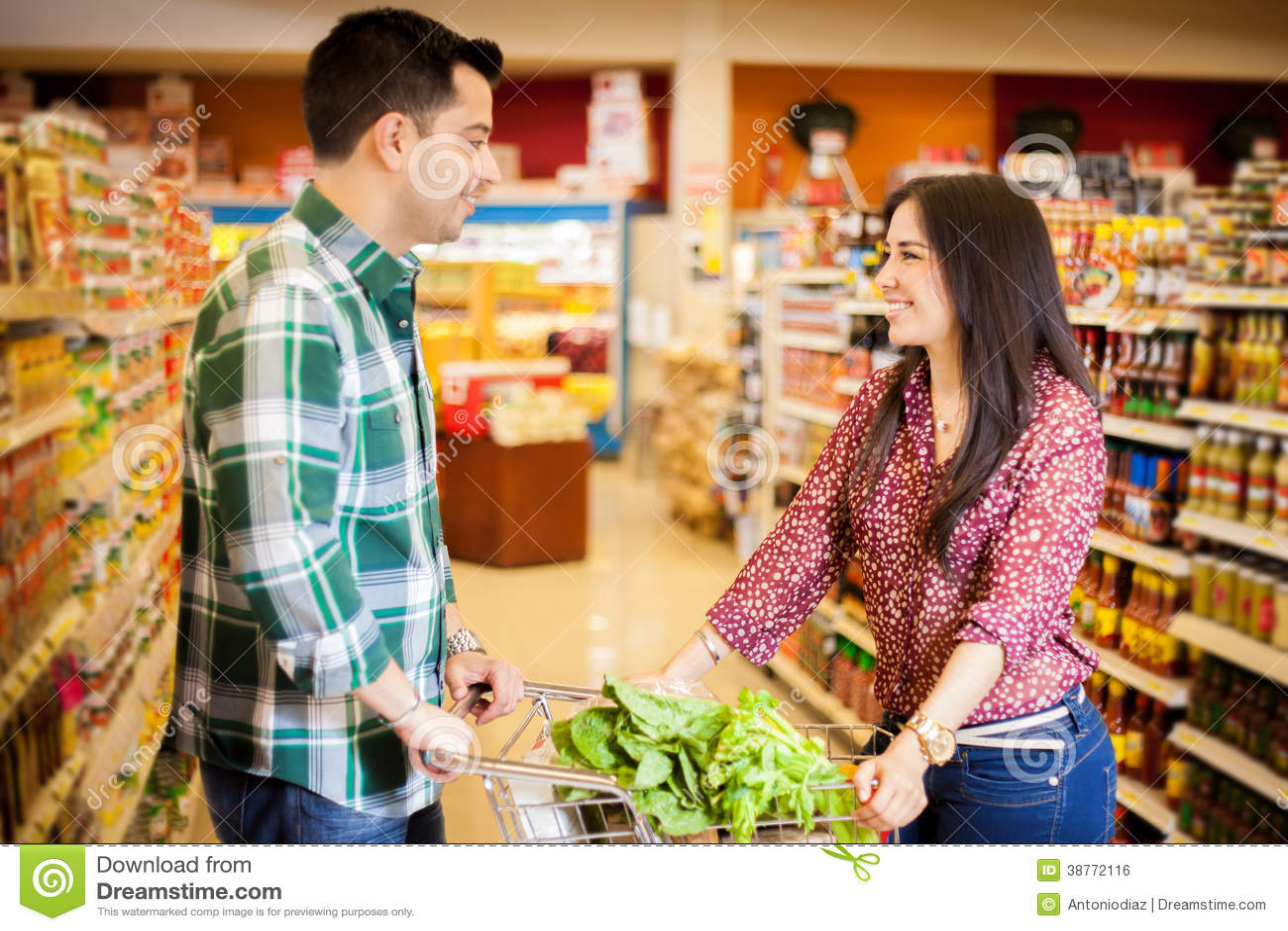 Flirten im Supermarkt- blogger.com bei RTL Explosiv - Flirt University