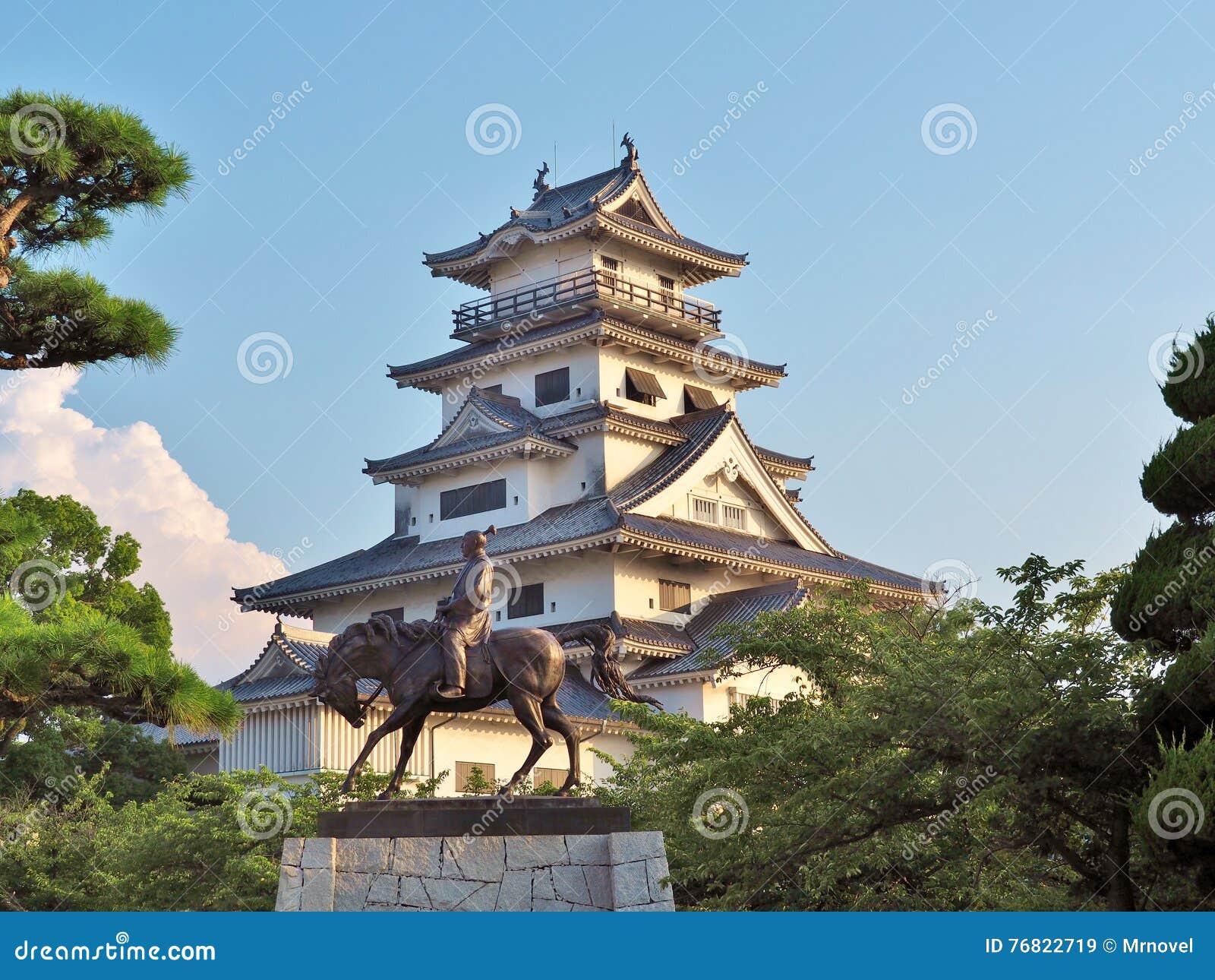 Imabarikasteel in Imabari, Japan